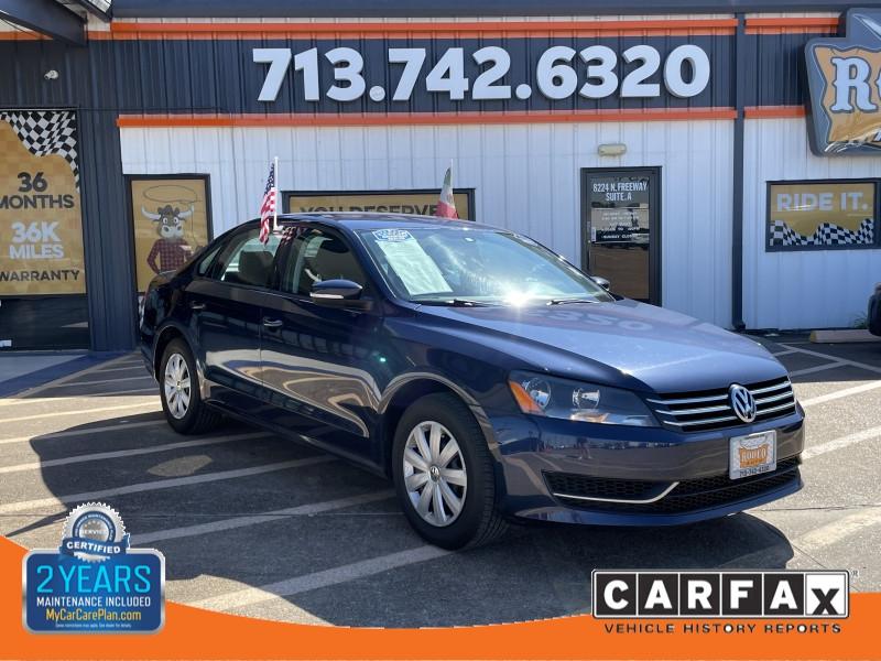 Volkswagen Passat 2013 price $1,600