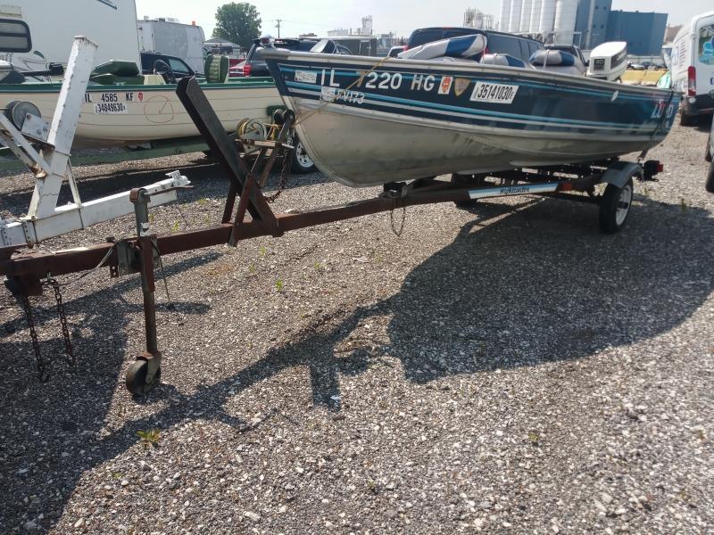 Lund Fishing Boat 1991 price $1,688