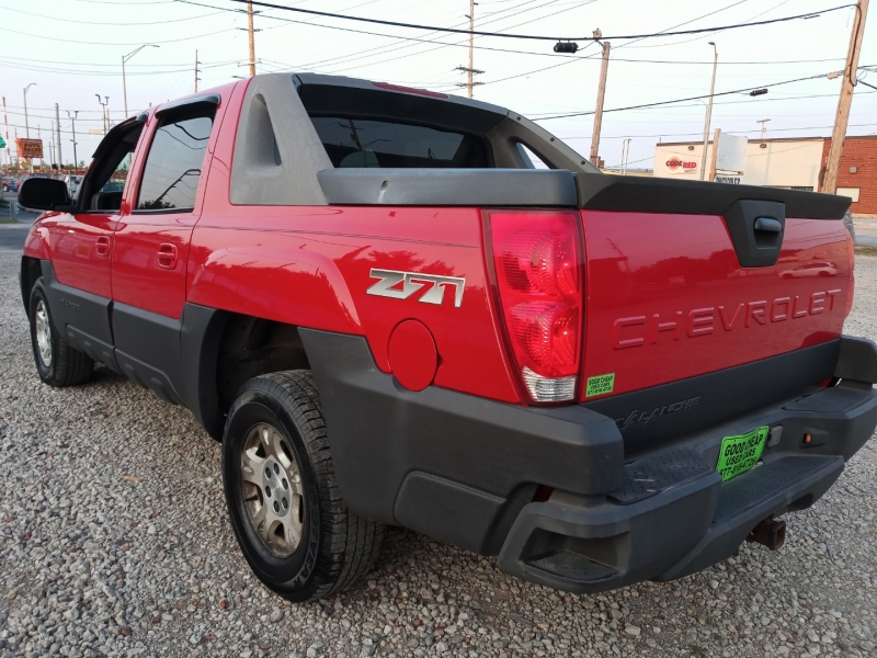 Chevrolet Avalanche 2003 price $4,988