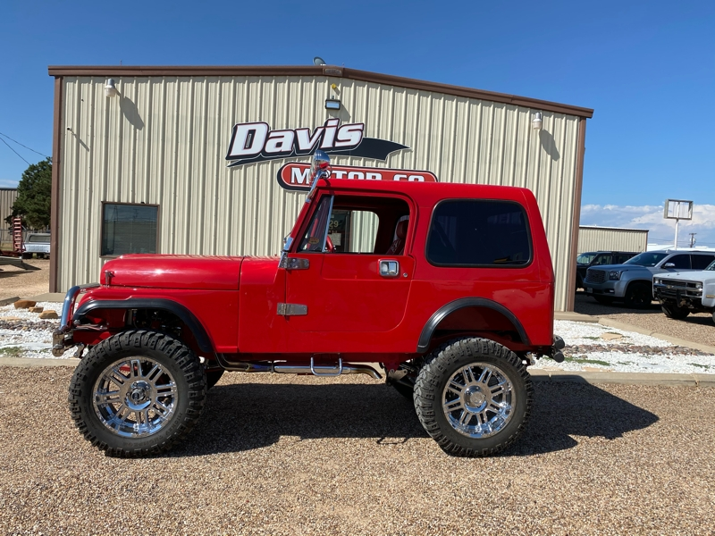 Jeep CJ 4WD 1983 price call for price