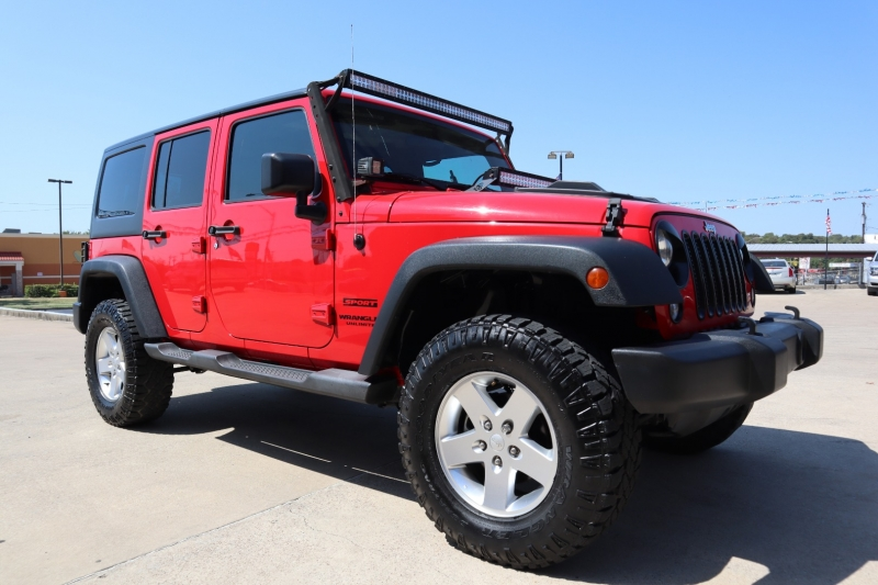 Jeep Wrangler Unlimited 2014 price