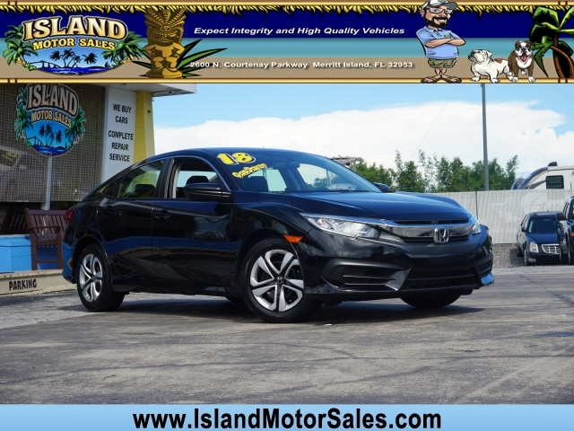 Honda Civic 2018 price $16,786