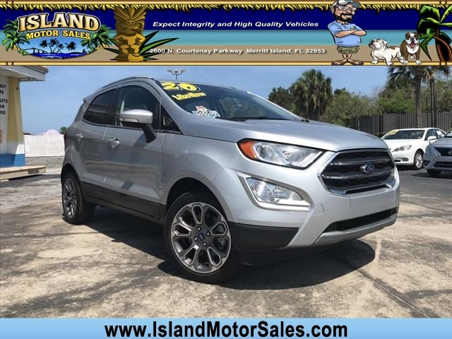 Ford EcoSport 2020 price $21,792