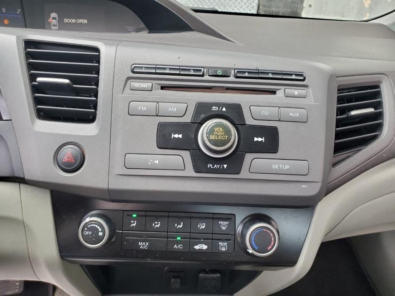 Honda Civic Sdn 2012 price $6,997