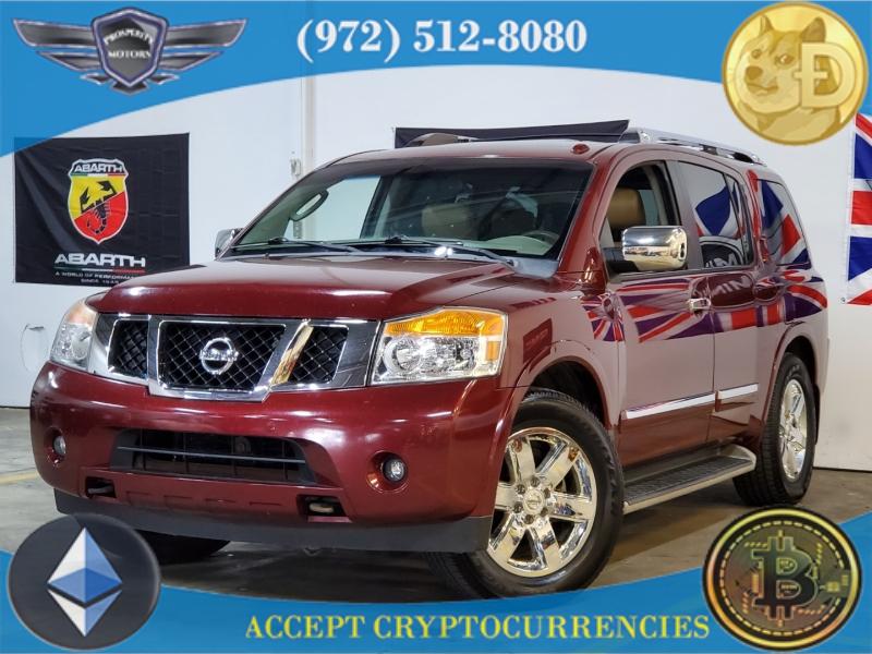 Nissan Armada 2011 price $11,997