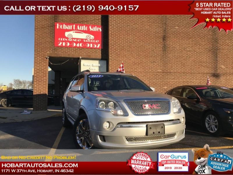 GMC ACADIA 2012 price $15,495