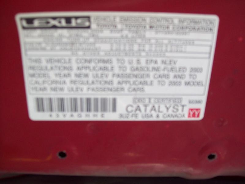 LEXUS SC 430 2003 price $13,490