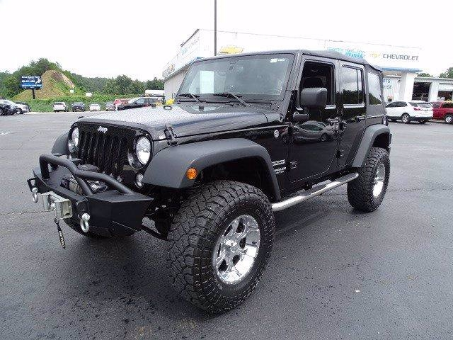 Jeep Wrangler Unlimited 2016 price $32,995