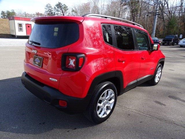 Jeep Renegade 2016 price $14,550