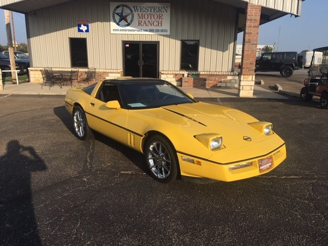 Chevrolet Corvette 1988 price $9,950