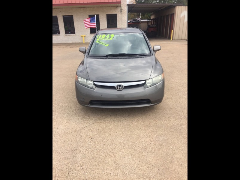HONDA CIVIC 2008 price $6,495