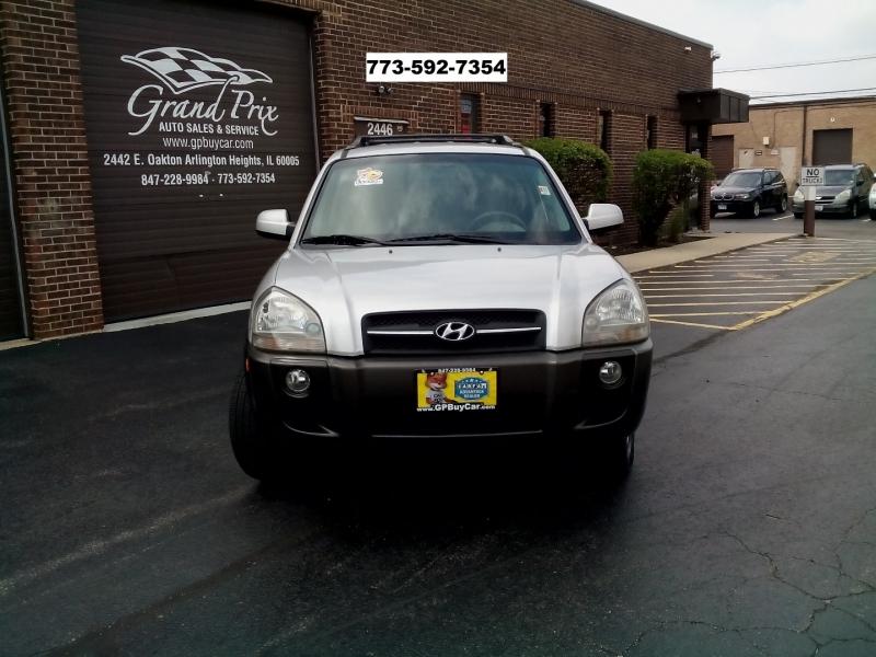 Hyundai Tucson 2007 price $4,490