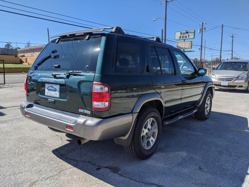 Nissan Pathfinder 2001 price $4,399