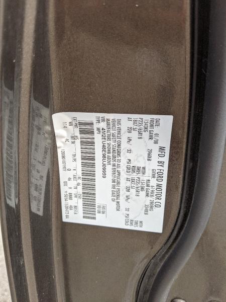 Mercury Mountaineer 2008 price $6,800