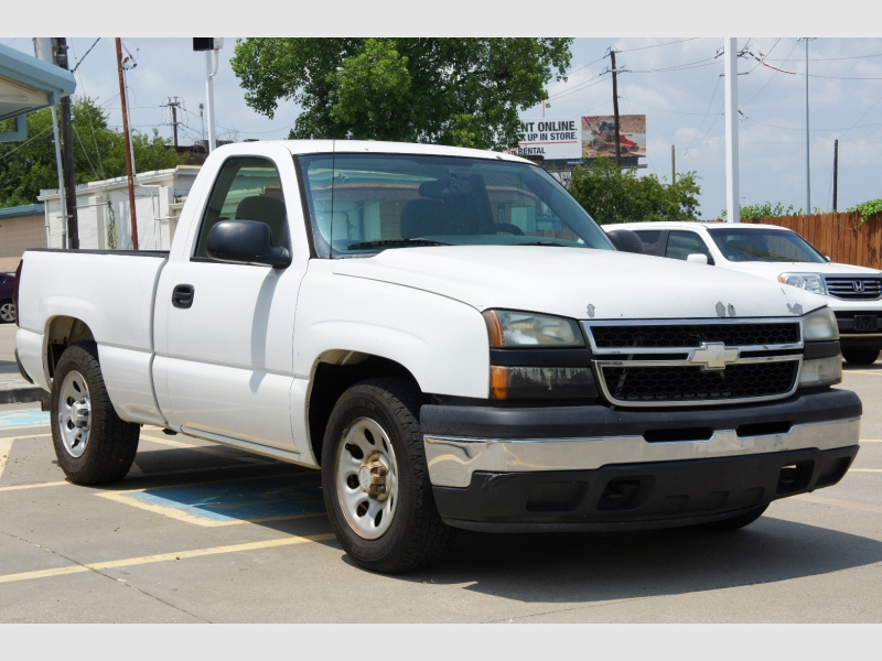 Chevrolet Silverado 1500 Classic 2007 price $6,977