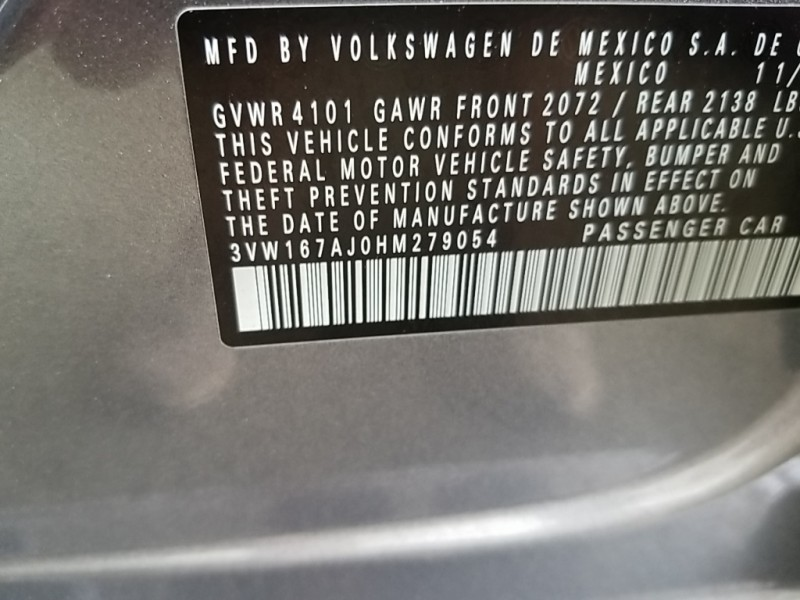 Volkswagen Jetta 2017 price $17,577