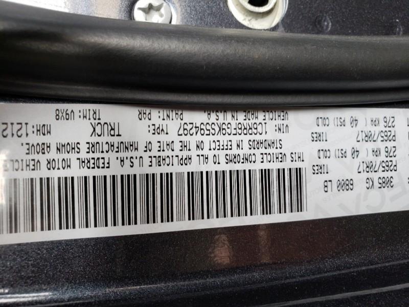 Ram 1500 Classic 2019 price $28,997