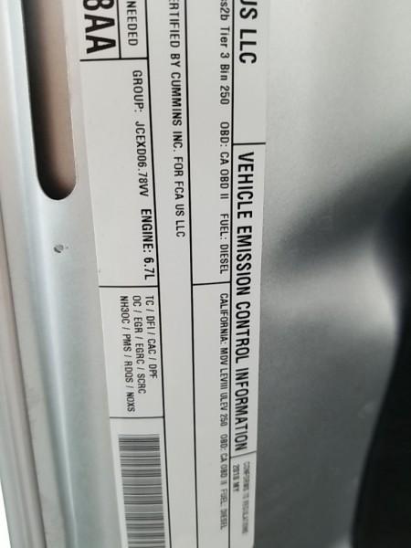 Ram 2500 2018 price $79,777