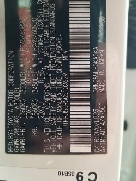 Toyota 4Runner 2012 price $23,977