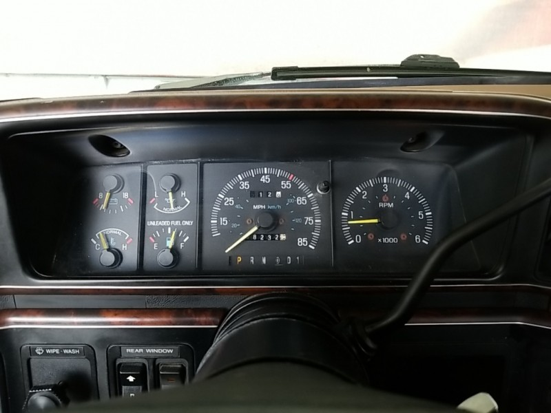 Ford Bronco 1989 price Call for Pricing.