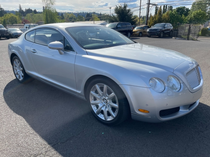 Bentley Continental 2004 price $39,995