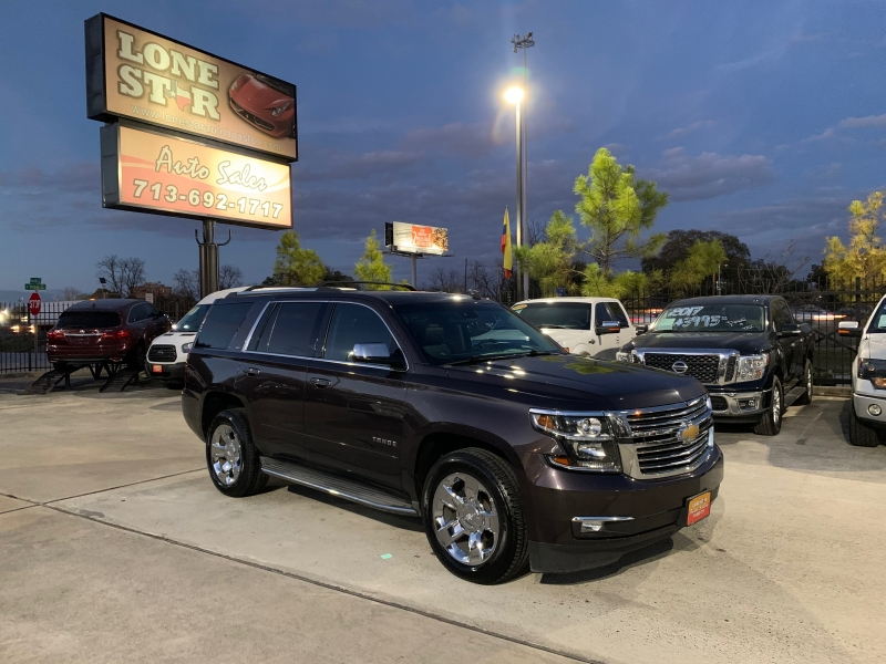 Chevrolet Tahoe 2015 price SOLD.