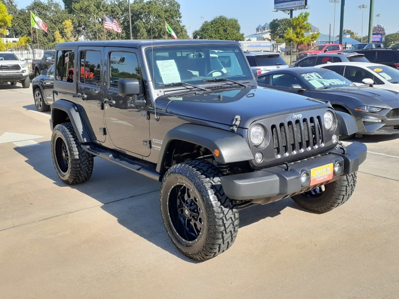 Jeep Wrangler Unlimited 2017 price $4,995 Down