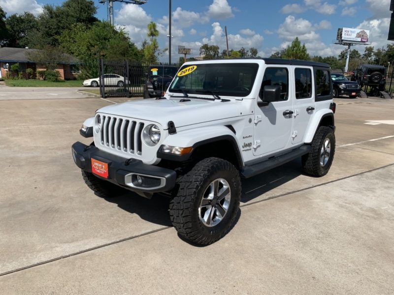 Jeep Wrangler Unlimited 2019 price $6,999 Down