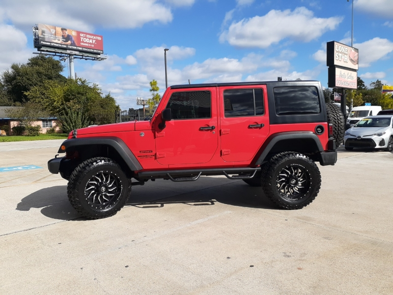 Jeep Wrangler Unlimited 2017 price $6,500 Down