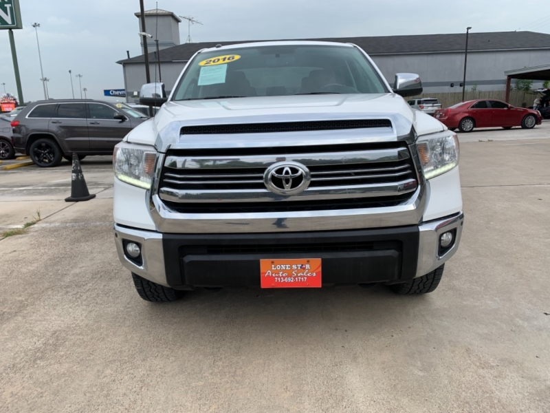 Toyota Tundra 4WD Truck 2016 price SOLD.