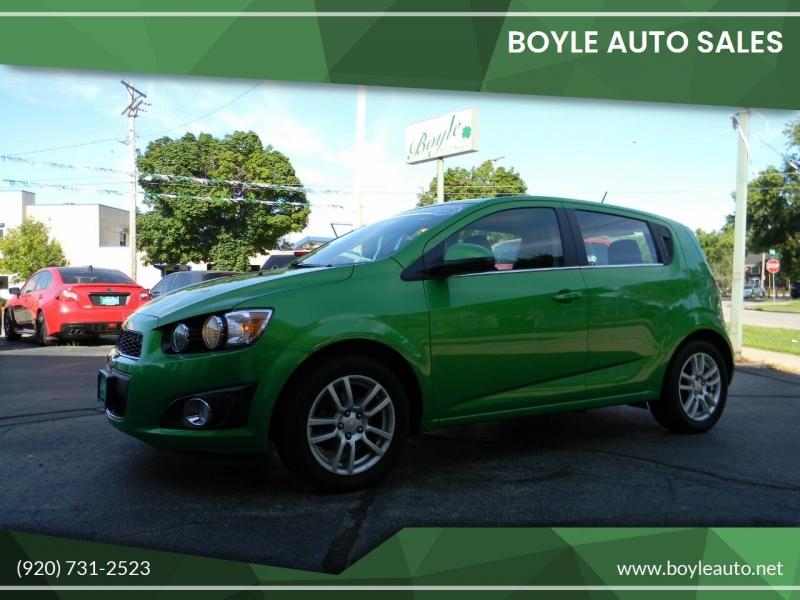 Chevrolet Sonic 2015 price $10,499