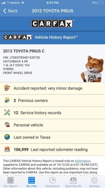 TOYOTA PRIUS C 2013 price $6,995