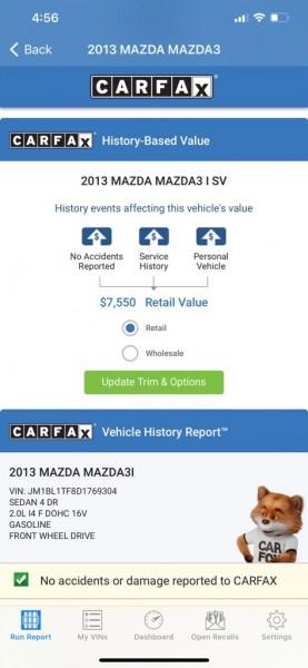 MAZDA 3 2013 price $5,495