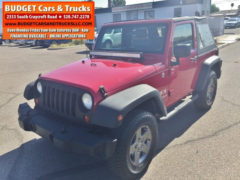 Jeep Wrangler 2008 price $11,295