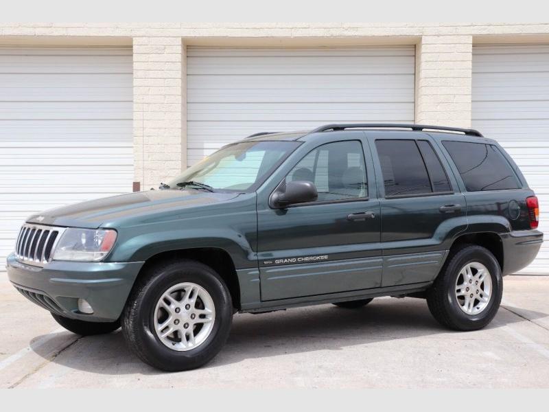 Jeep Grand Cherokee 2002 price $8,900
