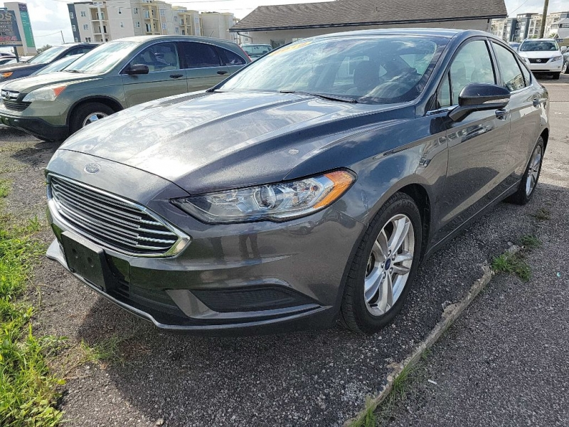 FORD FUSION 2018 price $15,900