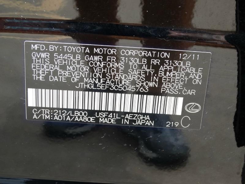 Lexus LS 460 2012 price $15,995