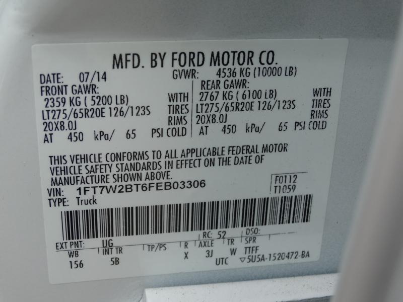 Ford Super Duty F-250 SRW 2015 price $35,995