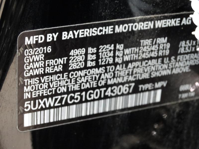 BMW X3 2016 price $22,995
