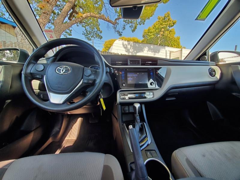 Toyota Corolla 2017 price $14,888