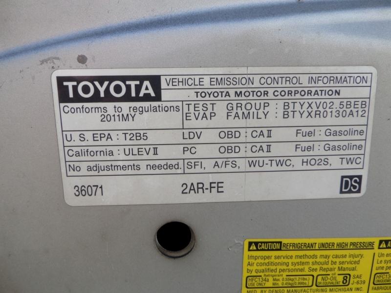 Toyota Camry 2011 price $7,450