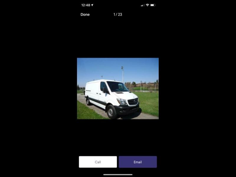 Mercedes-Benz Sprinter Cargo Vans 2012 price $13,999