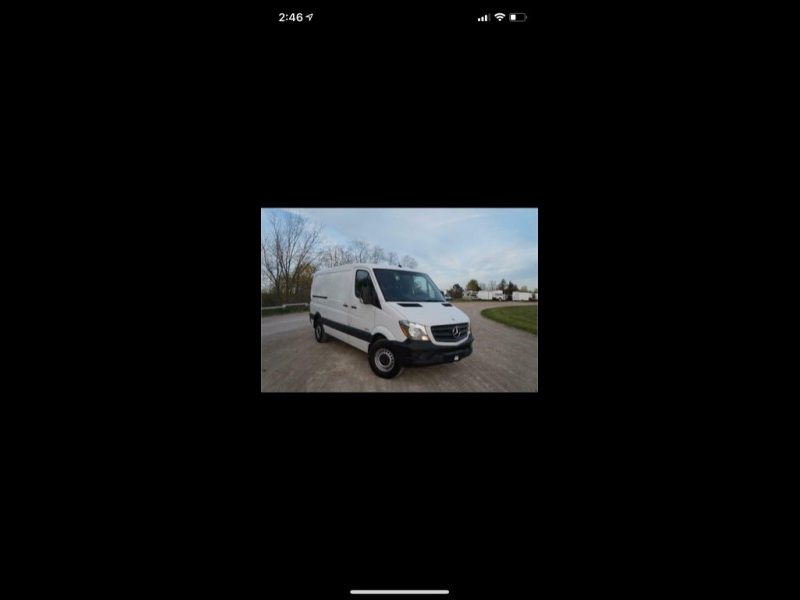 Mercedes-Benz Sprinter Cargo Vans 2015 price $999