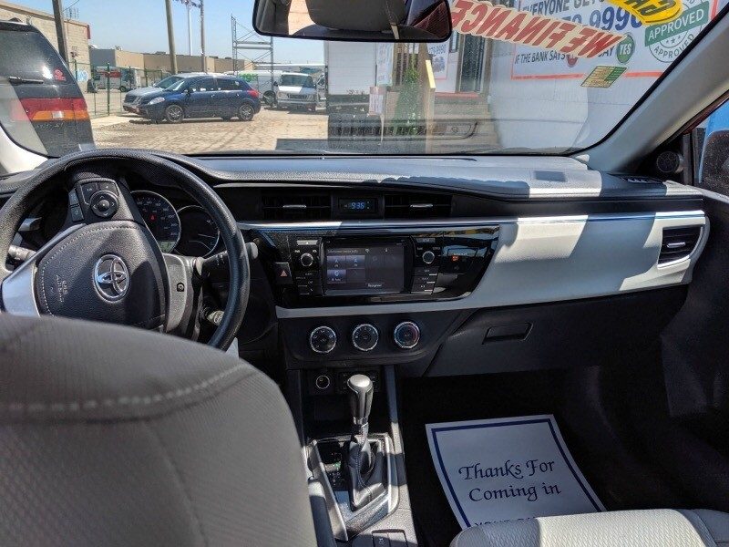 Toyota Corolla 2015 price $15,009