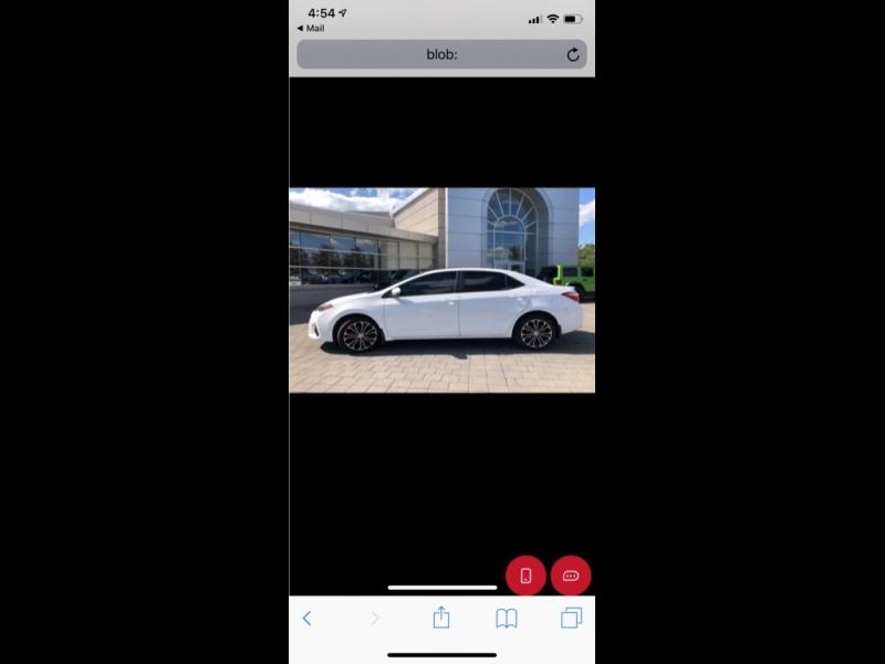 Toyota Corolla 2015 price $7,499