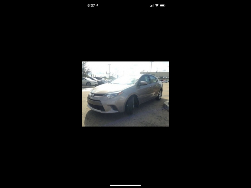 Toyota Corolla 2015 price $1,299
