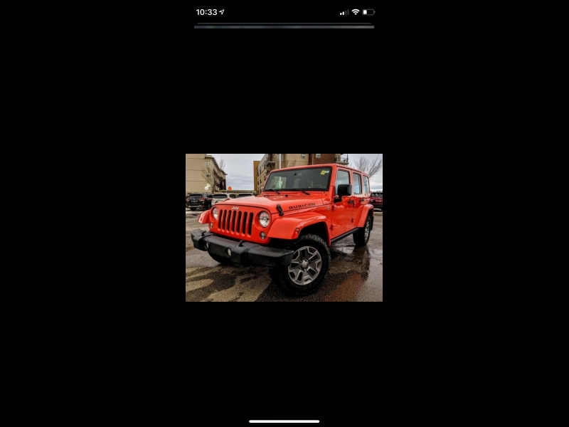 Jeep Wrangler Unlimited 2015 price $1,099