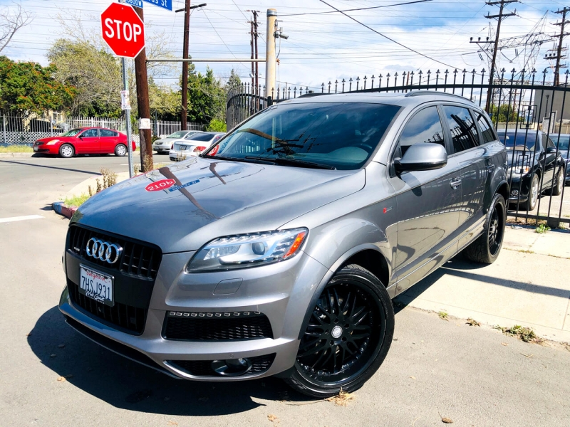 Audi Q7 2015 price $24,400