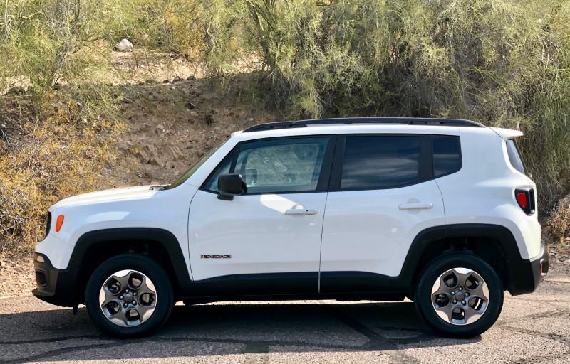 Jeep Renegade 2017 price $12,950