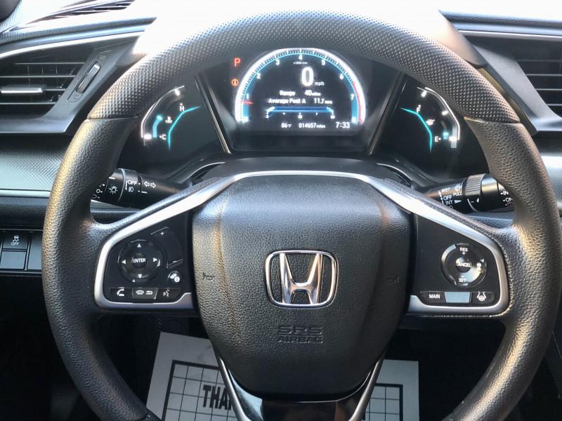 Honda Civic Hatchback 2019 price $18,500